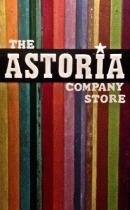 Astoria sign close up